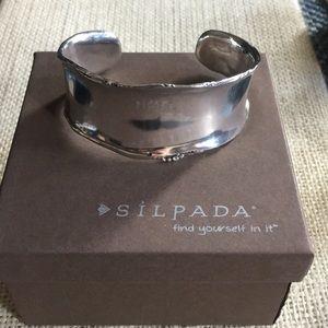 Vintage Silpada cuff bracelet